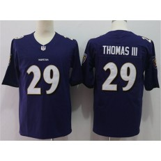 Baltimore Ravens #29 Earl Thomas III Purple Vapor Untouchable Limited Nike NFL Men Jersey