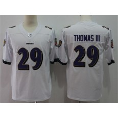 Baltimore Ravens #29 Earl Thomas III White Vapor Untouchable Limited Nike NFL Men Jersey