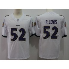 Baltimore Ravens #52 Ray Lewis White Vapor Untouchable Player Limited Nike NFL Men Jersey
