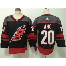 Carolina Hurricanes #20 Sebastian Aho Black Adidas NHL Men Jersey