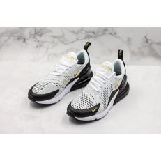 Nike Air Max 270 White Black Gold AH7892-100