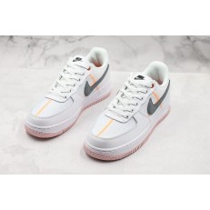 NIKE AIR FORCE 1 LOW 07 LV8 WHITE GREY ORANGE CI0060-101