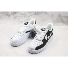 NIKE AIR FORCE 1 LOW WHITE BLACK BROKE SWOOSH 315124-011