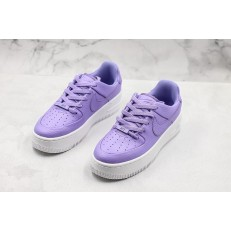 NIKE WMNS AIR FORCE 1 LOW SAGE LX WHITE PURPLE AR5339-500