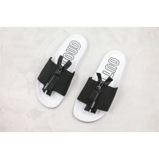 Adidas Originals 2019 Adilette ZIP Black White