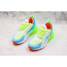 Nike Air Max 270 Volt Blue Green AH6789-414