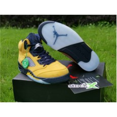 AIR JORDAN 5 MICHIGAN INSPIRE AMARILLO COLLEGE CQ9541-704