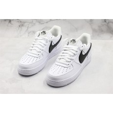 NIKE AIR FORCE 1 LOW 07 PRM WHITE BLACK BIG SWOOSH AT4143-102