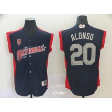 National League #20 Pete Alonso Navy 2019 MLB All-Star Game Player Jersey