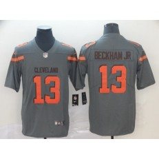 Cleveland Browns #13 Odell Beckham Jr Gray Inverted Legend Limited Nike NFL Men Jersey