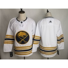 Buffalo Sabres Blank White 50th Anniversary Adidas NHL Men Jersey