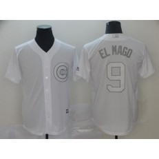 MLB Chicago Cubs #9 Javier Baez El Mago White 2019 Players' Weekend Player Jersey