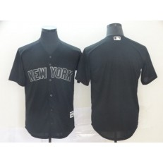MLB New York Yankees Blank Black 2019 Players' Weekend Player Jersey