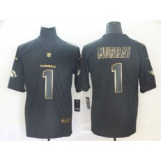 Arizona Cardinals #1 Kyler Murray Black Gold Vapor Untouchable Limited Nike NFL Men Jersey