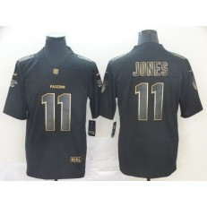 Atlanta Falcons #11 Julio Jones Black Gold Vapor Untouchable Limited Nike NFL Men Jersey