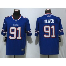 Buffalo Bills #91 Ed Oliver Royal 2019 NFL Draft First Round Pick Vapor Untouchable Limited Nike NFL Men Jersey