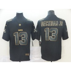 Cleveland Browns #13 Odell Beckham Jr Black Gold Vapor Untouchable Limited Nike NFL Men Jersey