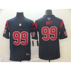 Houston Texans #99 J.J. Watt Navy New 2019 Color Rush Limited Nike NFL Men Jersey