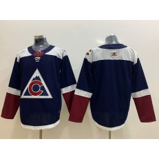 Colorado Avalanche Blank Navy Alternate Adidas NHL Men Jersey