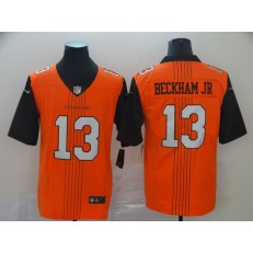 Cleveland Browns #13 Odell Beckham Jr. Brown City Edition Vapor Untouchable Limited Nike NFL Men Jersey