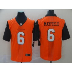 Cleveland Browns #6 Baker Mayfield Orange City Edition Vapor Untouchable Limited Nike NFL Men Jersey