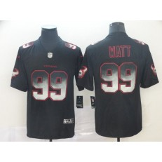 Houston Texans #99 J.J. Watt Black Arch Smoke Vapor Untouchable Limited Nike NFL Men Jersey