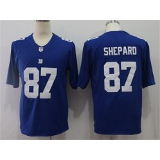 New York Giants #87 Sterling Shepard Royal Vapor Untouchable Limited Nike NFL Men Jersey