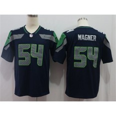 Seattle Seahawks #54 Bobby Wagner Navy Vapor Untouchable Limited Nike NFL Men Jersey