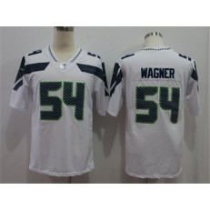 Seattle Seahawks #54 Bobby Wagner White Vapor Untouchable Limited Nike NFL Men Jersey