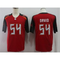 Tampa Bay Buccaneers #54 Lavonte David Red Vapor Untouchable Limited Nike NFL Men Jersey