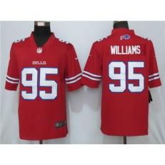 Buffalo Bills #95 Kyle Williams Red Color Rush Limited Nike NFL Men Jersey