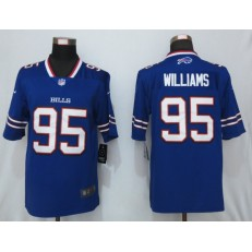 Buffalo Bills #95 Kyle Williams Royal Vapor Untouchable Limited Nike NFL Men Jersey