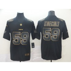 Carolina Panthers #59 Luke Kuechly Black Gold Vapor Untouchable Limited Nike NFL Men Jersey