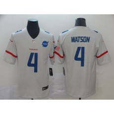 Houston Texans #4 Deshaun Watson White City Edition Vapor Untouchable Limited Nike NFL Men Jersey