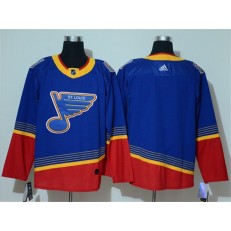 St.Louis Blues Blank Blue Adidas NHL Men Jersey