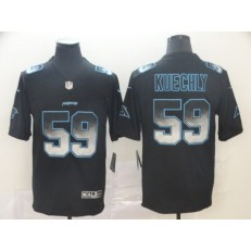 Carolina Panthers #59 Luke Kuechly Black Arch Smoke Vapor Untouchable Limited Nike NFL Men Jersey