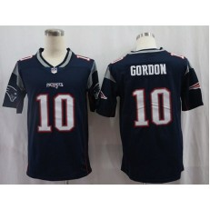 New England Patriots #10 Josh Gordon Navy Vapor Untouchable Limited Nike NFL Men Jersey
