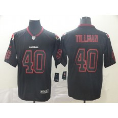 Arizona Cardinals #40 Pat Tillman Black Shadow Legend Limited Nike NFL Men Jersey