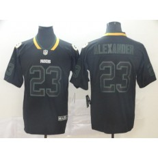 Green Bay Packers #23 Jaire Alexander Black Shadow Legend Limited Nike NFL Men Jersey