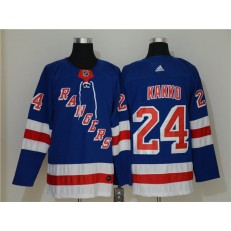 New York Rangers #24 Kaapo Kakko Blue Adidas NHL Men Jersey