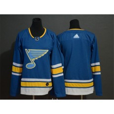 St.Louis Blues Blank Blue Alternate Adidas NHL Men Jersey