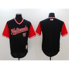 MLB Washington Nationals Blank Navy 2017 Players Weekend Jersey