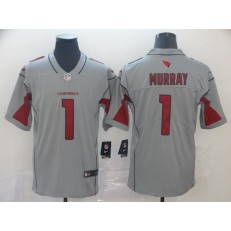 Arizona Cardinals #1 Kyler Murray Silver Inverted Legend Nike NFL Men Jersey