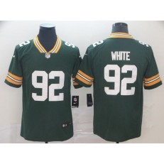Green Bay Packers #92 Reggie White Green Vapor Untouchable Player Limited Nike NFL Men Jersey