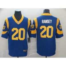 Los Angeles Rams #20 Jalen Ramsey Royal Vapor Untouchable Limited Nike NFL Men Jersey