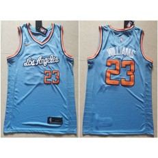 Los Angeles Clippers #23 Lou Williams Light Blue Nike Swingman Jersey