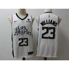 Los Angeles Clippers #23 Lou Williams White City Edition Nike Swingman Jersey