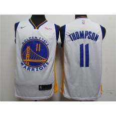 Washington Warriors #11 Klay Thompson White 2020 New Nike Swingman Jersey