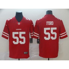 San Francisco 49ers #55 Dee Ford Red Vapor Untouchable Limited Nike NFL Men Jersey
