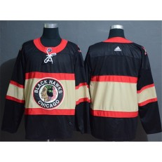 Chicago Blackhawks Blank Premier Black New Third Adidas Jersey